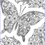 Best Coloring Books For Adults Elegant Gallery Detailed Butterfly Coloring Pages For Adults