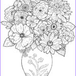 Best Coloring Books For Adults Elegant Gallery Flower Coloring Pages For Adults Best Coloring Pages For