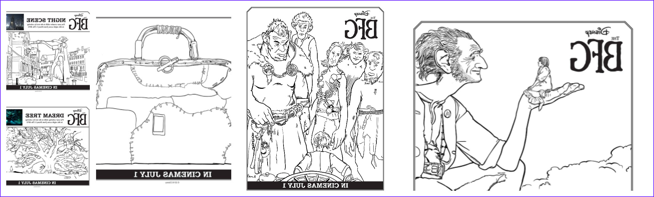Bfg Coloring Pages Best Of Images Disney S the Bfg Featurette Sweepstakes and Coloring