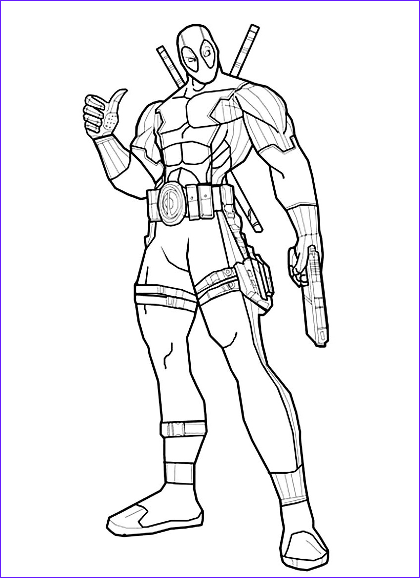 Boys Coloring Pages Best Of Photography Deadpool Coloring Pages For Boys
