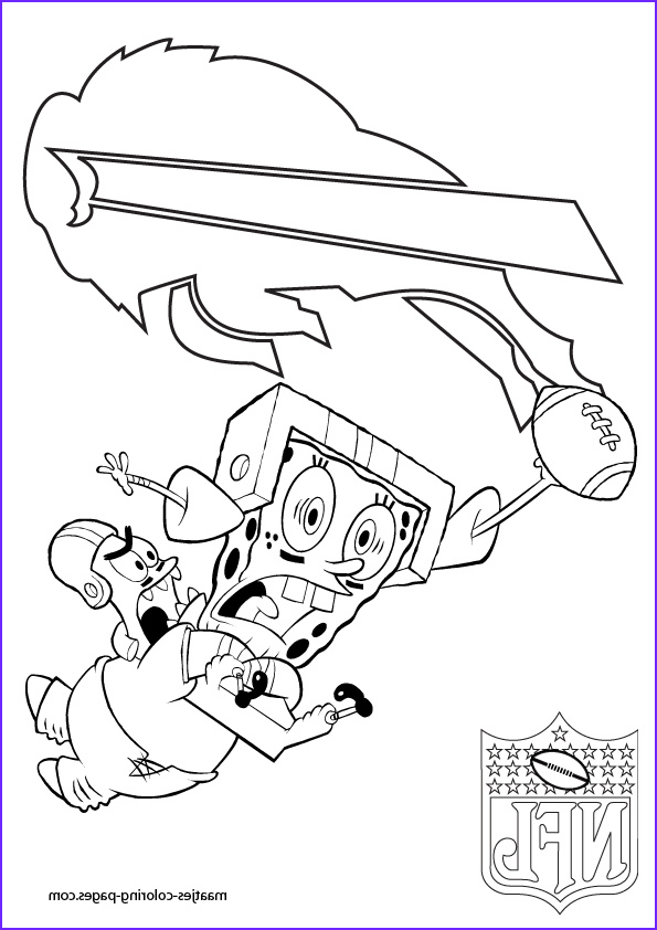 buffalo bills nfl coloring pages 06