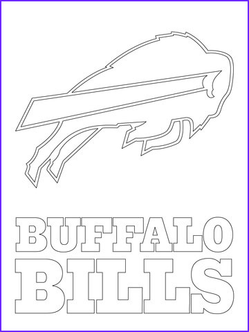 Buffalo Bills Coloring Best Of Photos Crafted Here