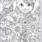 Cats Adult Coloring Book Best Of Photography Cat Abstract Doodle Zentangle Coloring Pages Colouring