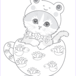 Cats Coloring Sheet Elegant Collection Teacup Kittens Coloring Book Design Originals 32