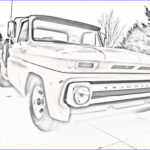 Chevrolet Coloring Beautiful Collection Chevy Truck Coloring Pages