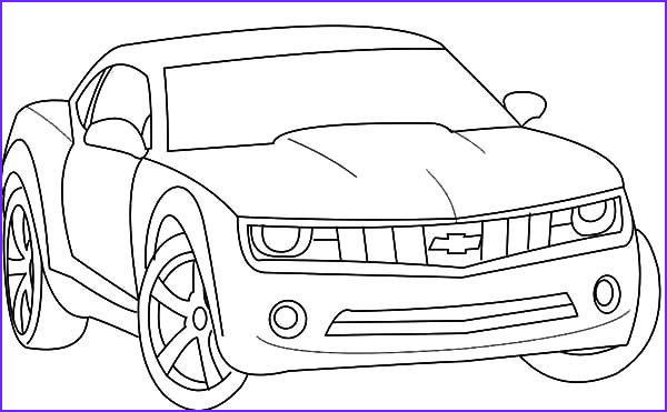Chevrolet Coloring Luxury Photography Chevrolet Camaro Bumblebee Car Coloring Pages