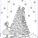 Christmas Adult Coloring Book Best Of Images 21 Christmas Printable Coloring Pages Everythingetsy