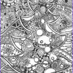 Christmas Adult Coloring Book New Stock Christmas Tree Coloring Pages For Adults 2018 Dr Odd