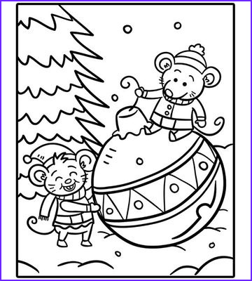 Christmas Coloring Pages for Kids Beautiful Images Printable Holiday Coloring Pages