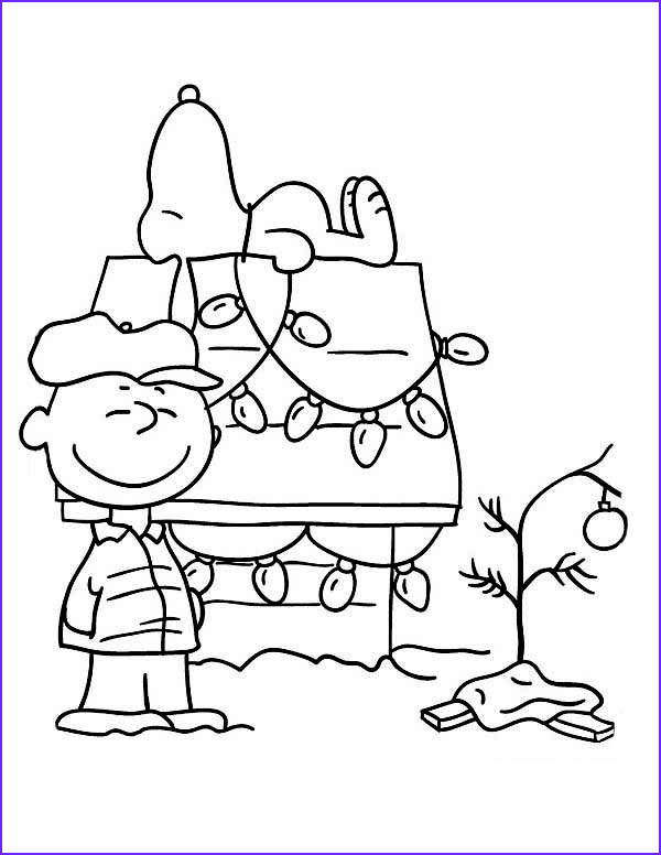 Christmas Coloring Pages for Kids Beautiful Photos Free Printable Charlie Brown Christmas Coloring Pages for