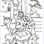 Christmas Nativity Coloring Pages Awesome Images 9 Best Nativity Images On Pinterest