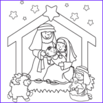 Christmas Nativity Coloring Pages Beautiful Image Nativity Coloring Page Plus Other Christmas Coloring Pages