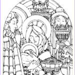 Christmas Nativity Coloring Pages Beautiful Stock Free Christmas Coloring Pages