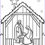 Christmas Nativity Coloring Pages Elegant Photos Printable Nativity Scene Coloring Pages For Kids