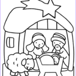 Christmas Nativity Coloring Pages New Photos Christmas Coloring Sheets For Kindergarten