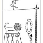 Circus Coloring Pages Cool Stock 87 Best Circus Kleurplaten Images On Pinterest