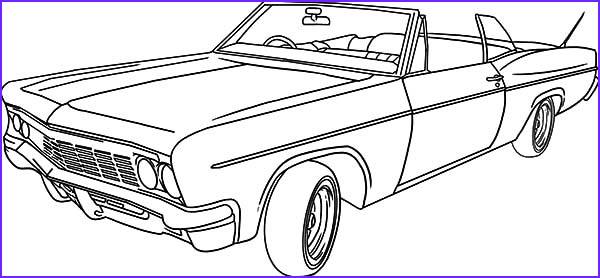 Classic Car Coloring Book Beautiful Stock Lowrider Classic Car Coloring Pages Netart