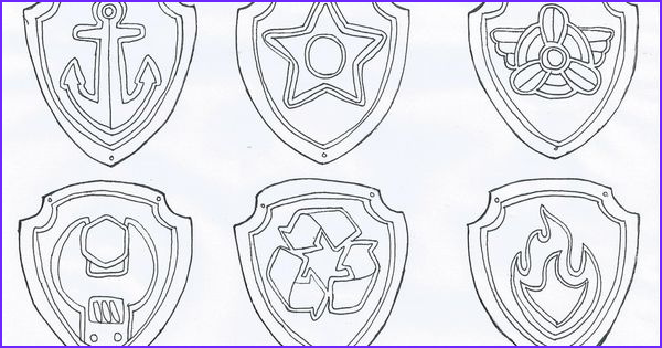 Coloring Badge Beautiful Images Dl 2009 03 Paw Patrol Badge Coloring Page 1 024