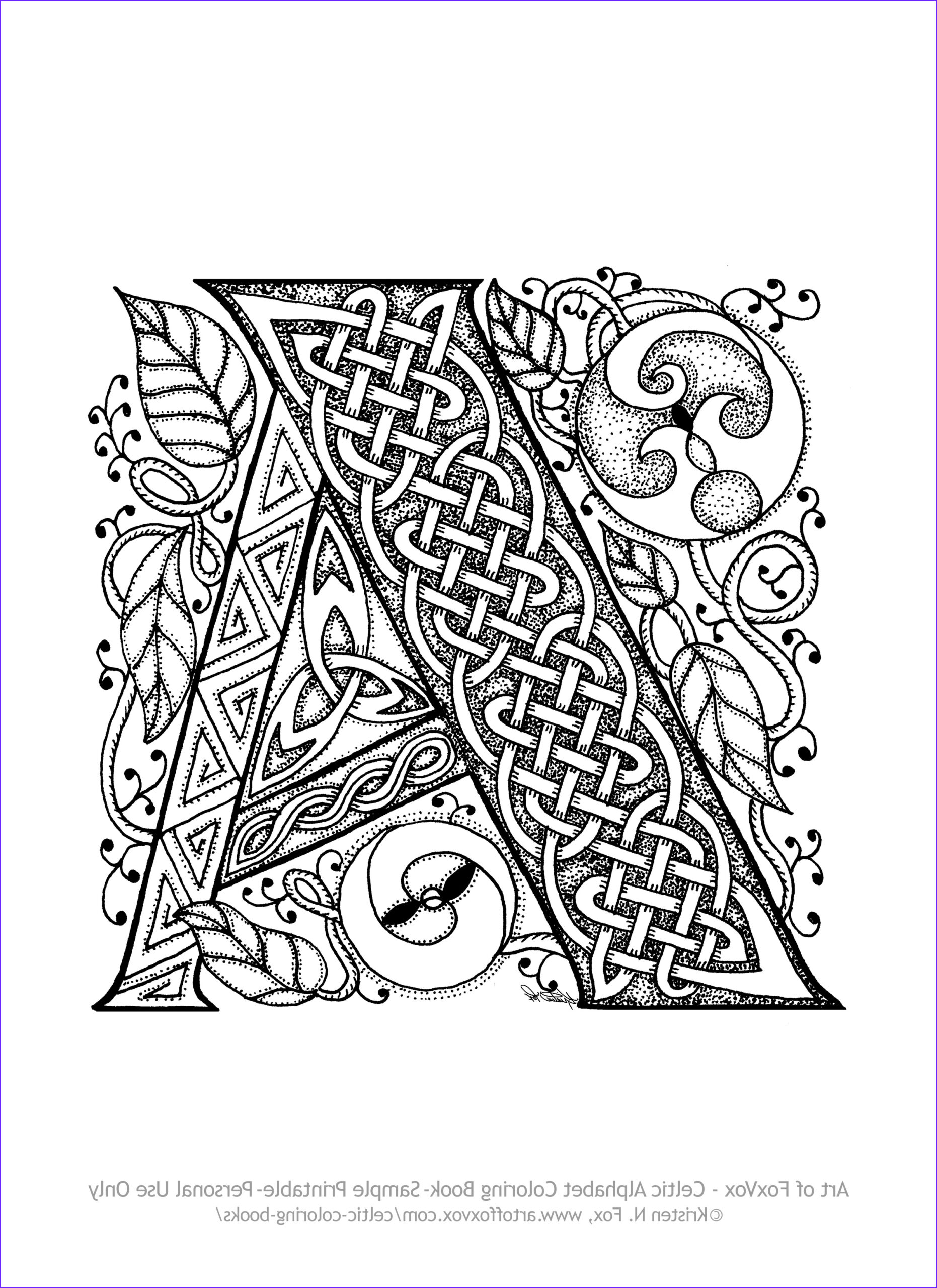 Coloring Book Art Cool Images original Coloring Books for Adults – Art Of Foxvox