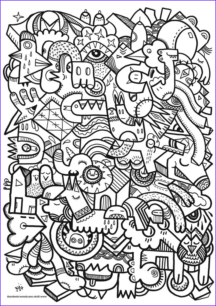 Coloring Book Art New Stock Free Coloring Page Coloring Adult Difficult Art