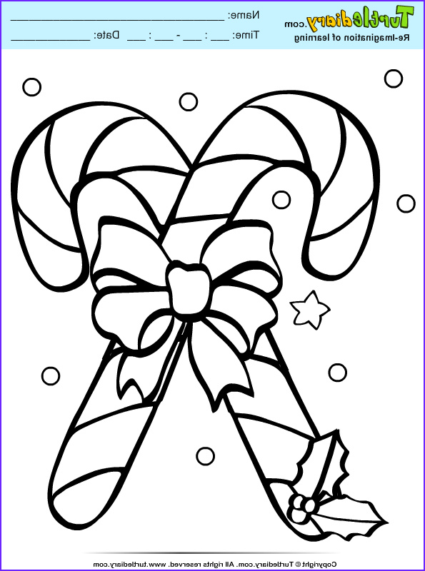 Coloring Candy Canes Beautiful Gallery Candy Cane Coloring Sheet