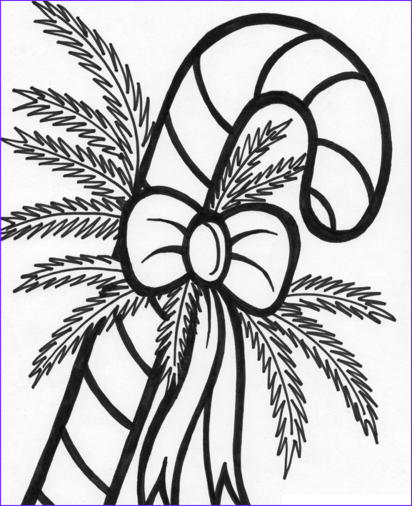 Coloring Candy Canes Beautiful Image Free Printable Candy Cane Coloring Pages for Kids