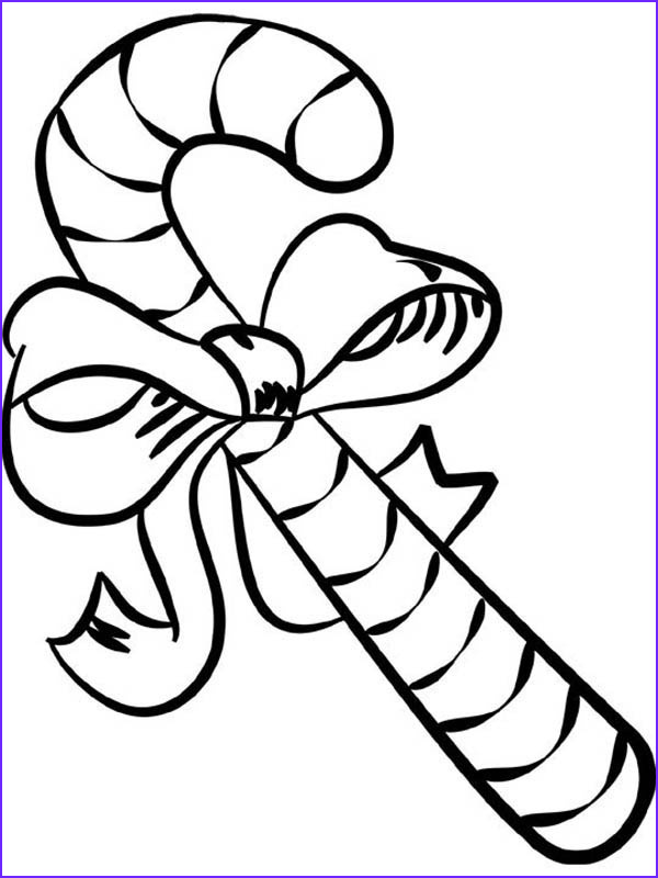 Coloring Candy Canes Inspirational Stock Big Candy Cane Coloring Page Download & Print Line