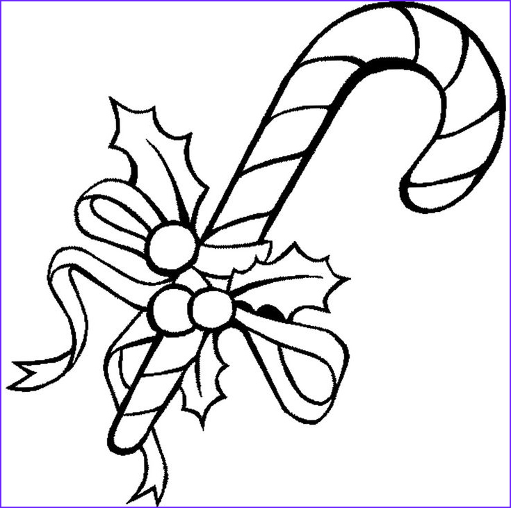 Coloring Candy Canes New Images Candy Cane Christmas Coloring Page Cookie