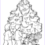 Coloring Christmas Tree Elegant Images Christmas Tree Coloring Pages For Adults 2018 Dr Odd