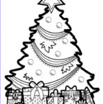 Coloring Christmas Tree New Images 20 Free Printable Christmas Tree Coloring Pages