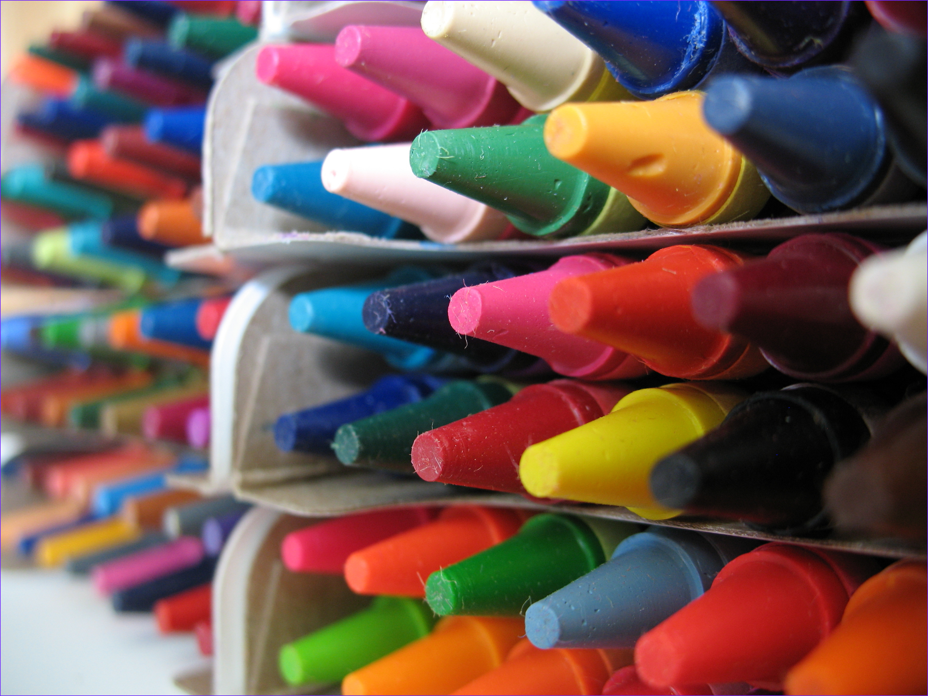 crayons color books conspiracy theories