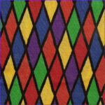 Coloring Fabric Awesome Image Rainbow Color Harlequin Fabric Cotton 1 Yard
