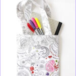 Coloring Fabric Beautiful Image Color Me Fabric Tote Diy The Sewing Rabbit