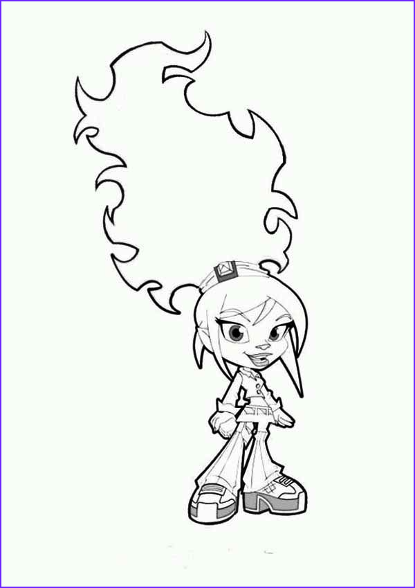 trollz character topaz trollhopper coloring pages