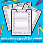 Coloring Journals Inspirational Images Free Printable Coloring Journal Pages Sarah Renae Clark