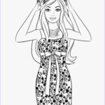 Coloring Pages Barbie Awesome Collection Coloring Pages Barbie Free Printable Coloring Pages
