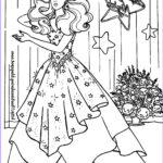 Coloring Pages Barbie Beautiful Gallery 1000 Images About Coloriage Barbie On Pinterest