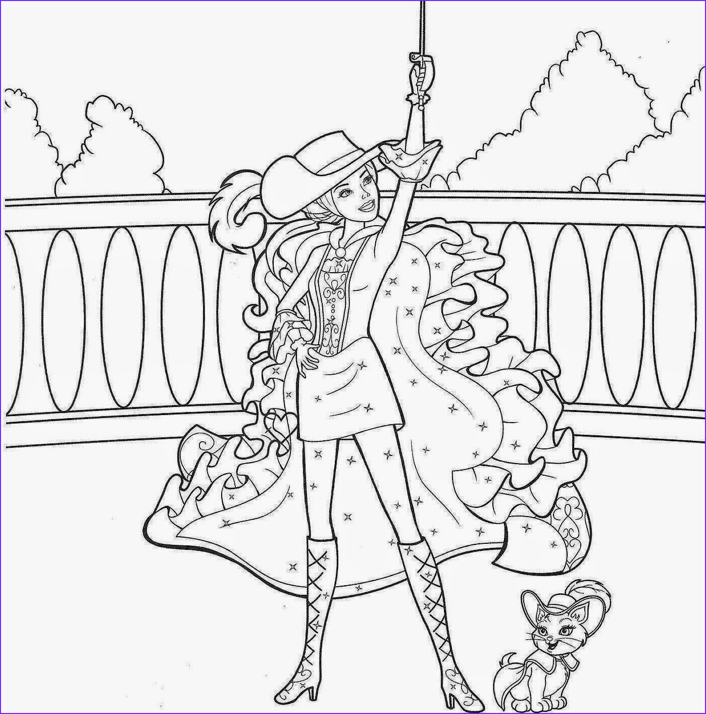 Coloring Pages Barbie Beautiful Images Colour Drawing Free Wallpaper Barbie Coloring Drawing