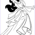Coloring Pages For Kids Printable Beautiful Photos Free Printable Jasmine Coloring Pages For Kids Best