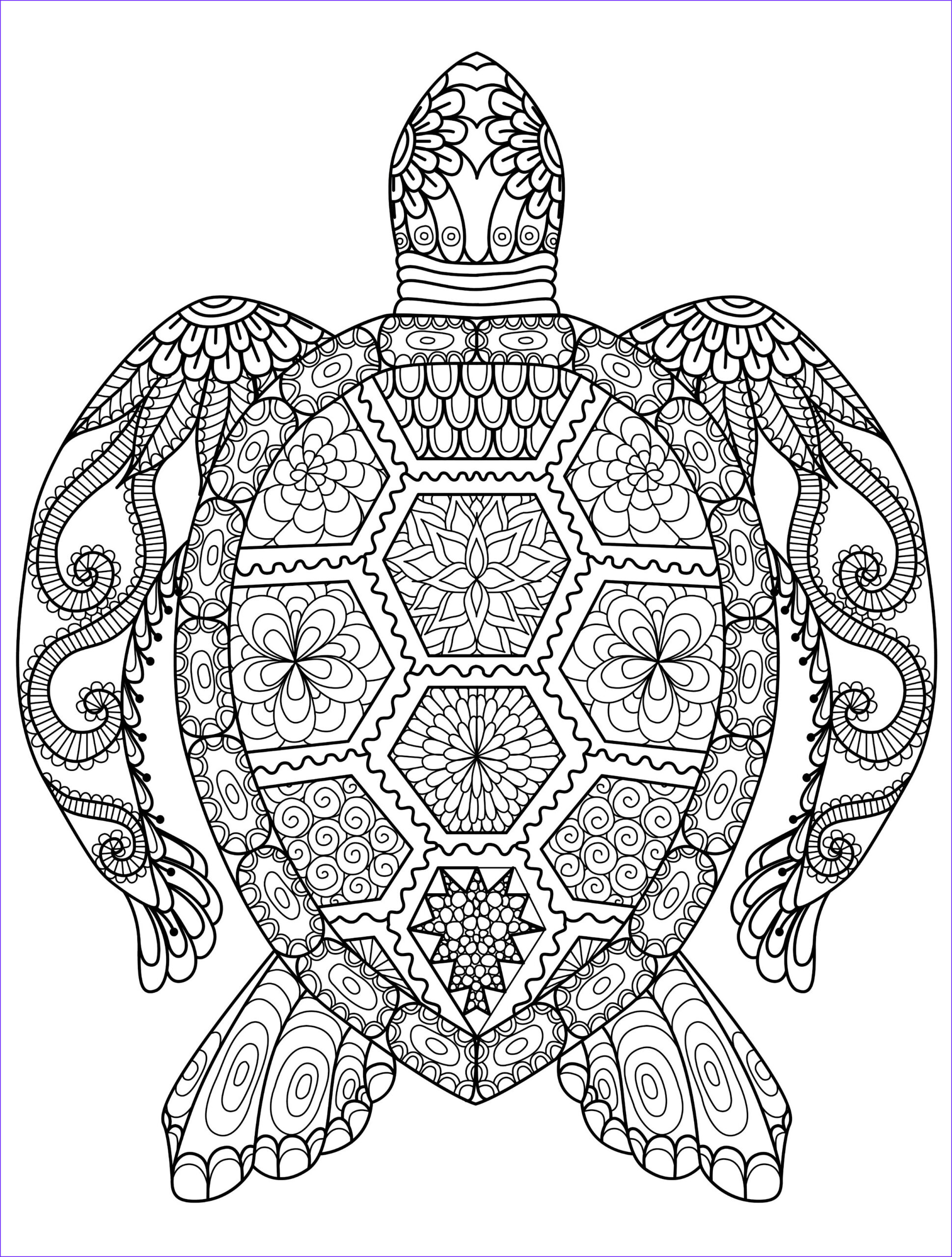 Coloring Pages Of Animals for Adults Awesome Images Animal Coloring Pages for Adults Best Coloring Pages for