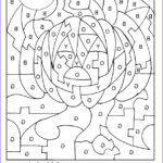 Coloring Pages With Numbers Beautiful Photos Color By Number Coloring Pages