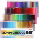 Coloring Pencils for Adult Coloring Books Best Of Image Shuttle Art 136 Colored Pencils Colored Pencil Set for