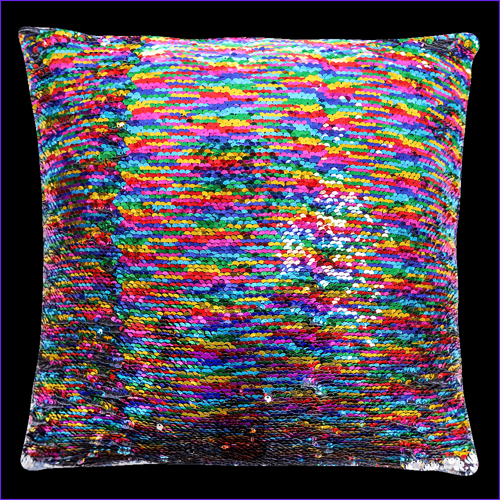 color changing sequin pillow girls