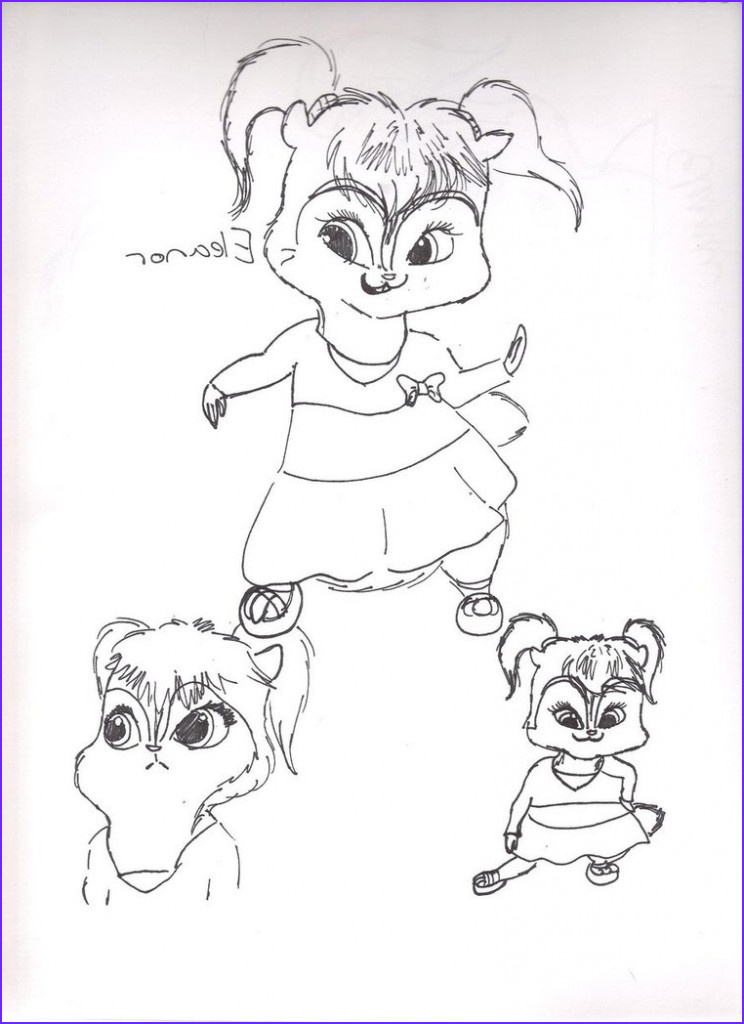 Coloring Sheets for Kids New Stock Free Printable Chipettes Coloring Pages for Kids