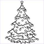 Cristmas Tree Coloring Luxury Photography Christmas Tree Coloring Pages For Childrens Printable For Free