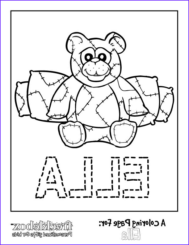 Custom Coloring Book Printing Cool Photos Personalized Name Coloring Pages at Getcolorings