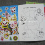 Custom Coloring Book Printing Unique Photography Custom Printed Paper Coloring Books Children Chirtmas