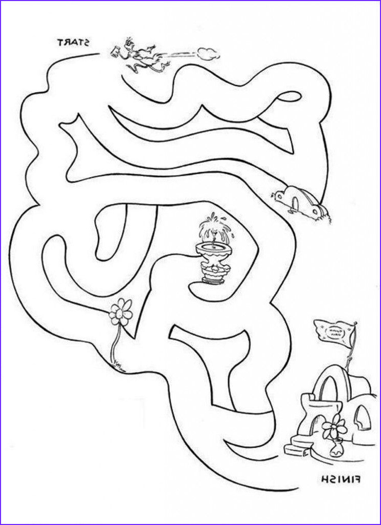 Dr.seuss Coloring Book Inspirational Gallery Dr Seuss Printable Coloring Pages Coloring Home