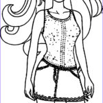 Dress Coloring Best Of Collection Barbie Dress Coloring Page