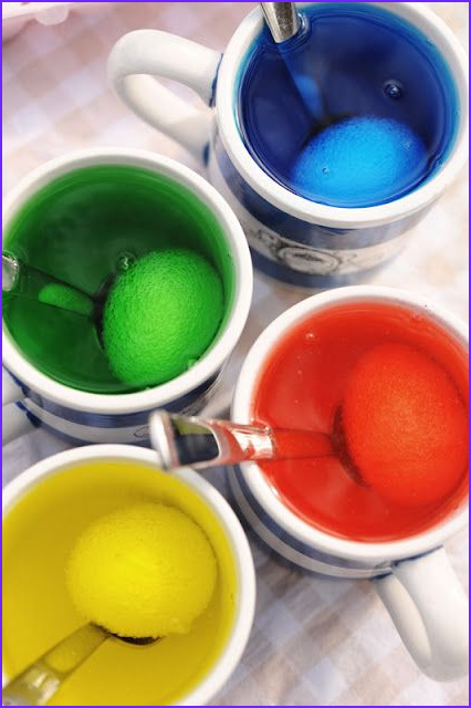 Dye Eggs with Food Coloring Awesome Gallery Dyeing Easter Eggs with Vinegar and Food Coloring